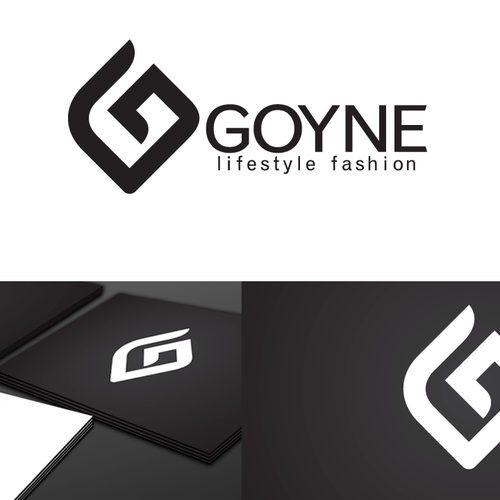 Create a stylish logo for Goyne (a highend nightlife fashion company)