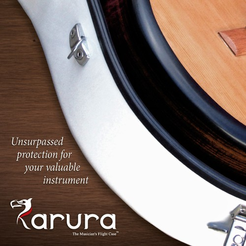 Magazine page ad for Karura