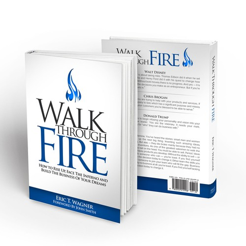 Yes, Design A Best Selling Book Cover -- Walk Through Fire