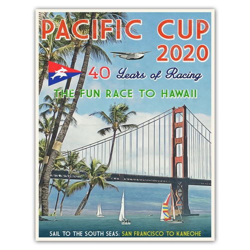 Poster design for Pacific Cup 2020