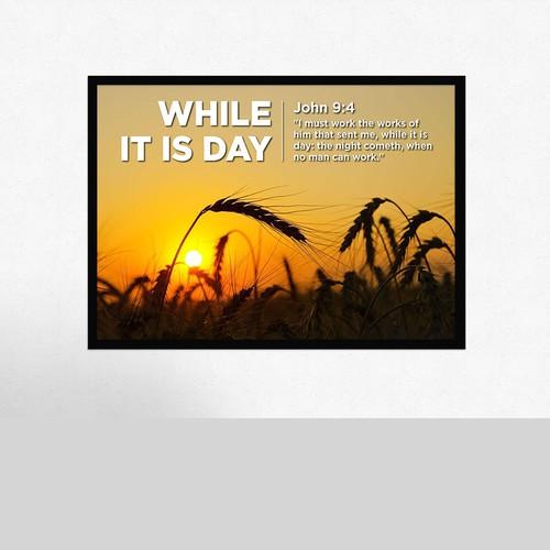 Winning Entry Poster Design
