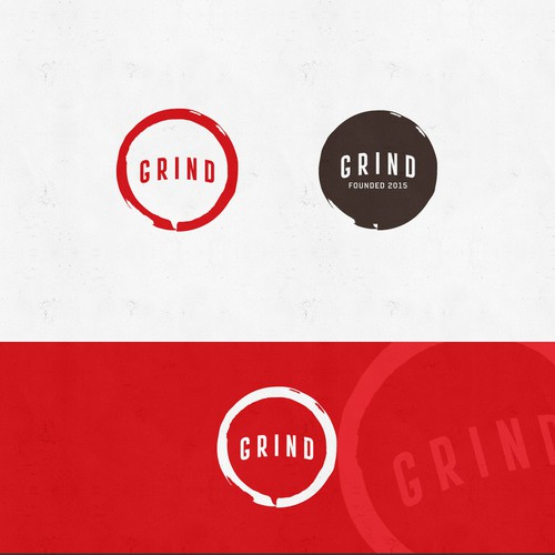Strong logo for Grind Coffee
