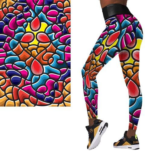 Legging pattern design