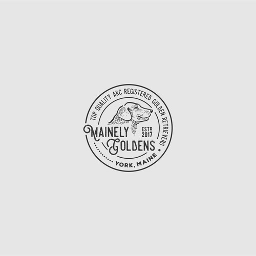 Mainely Golden Logo