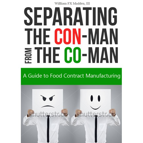 Cover for Business Book about Food Contract Manufacturing