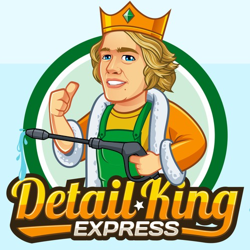 Detail King Express Logo
