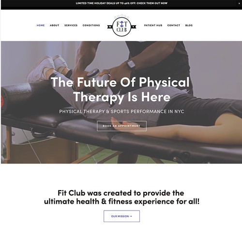 Website Design for Physical Therapist