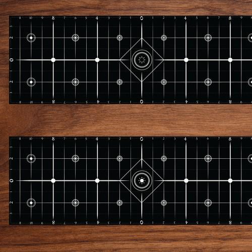 Functional Yoga Alignment Mat Design