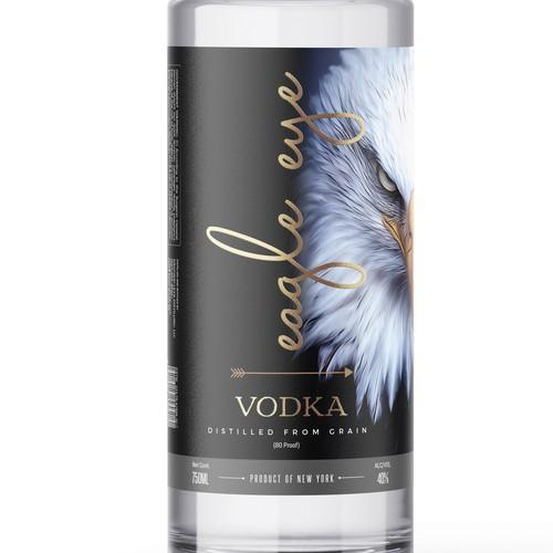Bold concept for Vodka label
