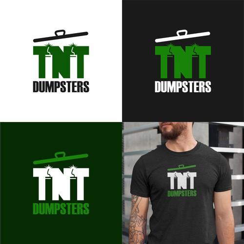Logo for tnt dumbster