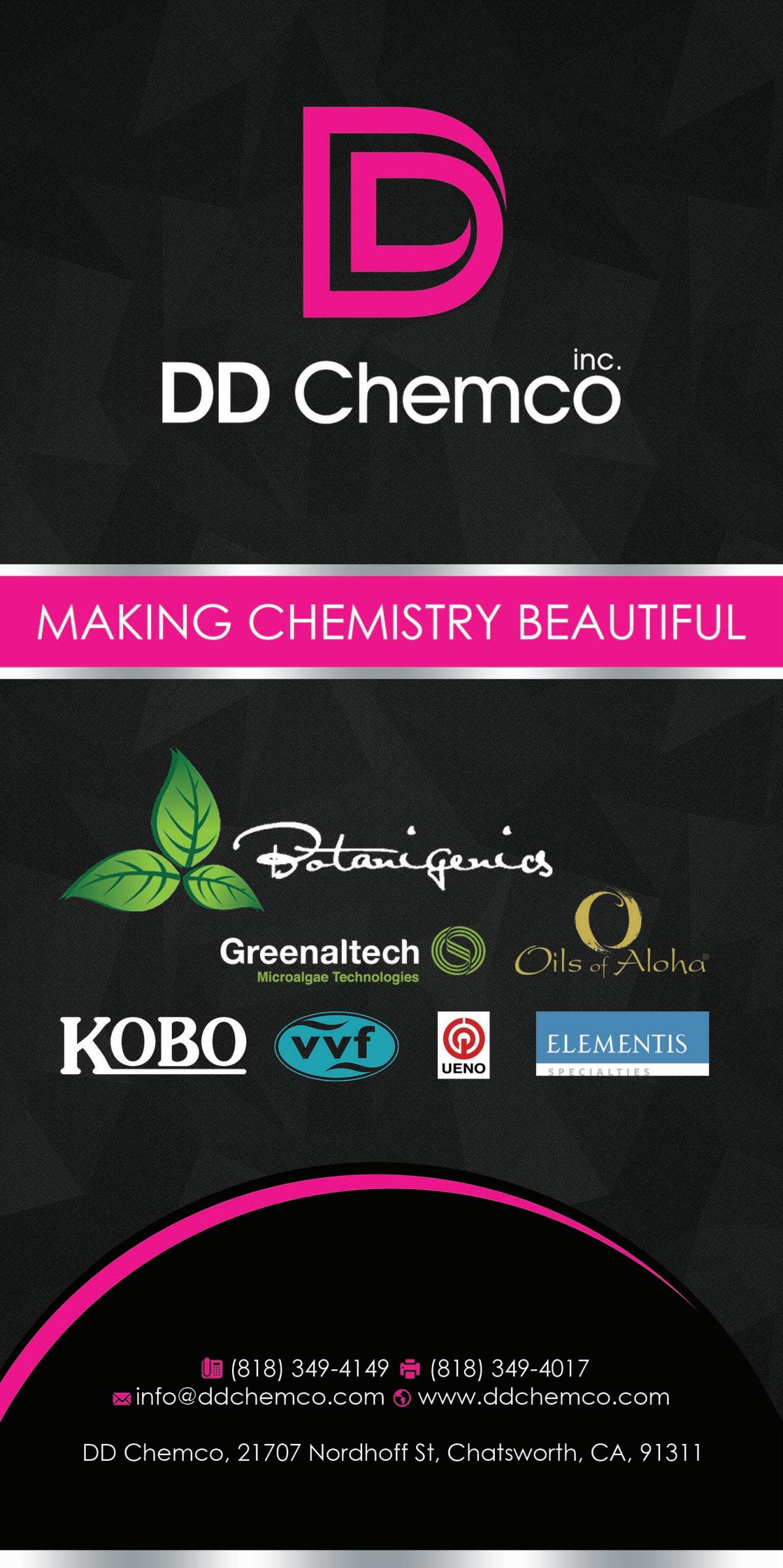 DD Chemco Catalog Advertisement