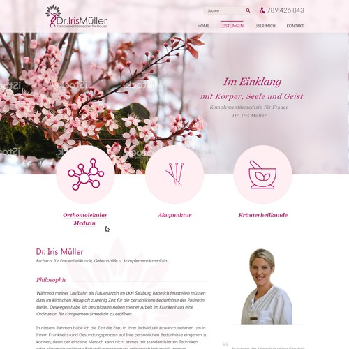 Dr Iris Muller Home page