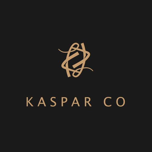 Luxury logo for KASPAR CO