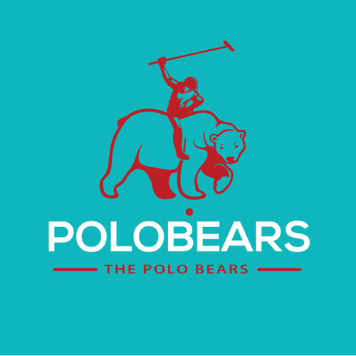 simple logo for POLOBEARS