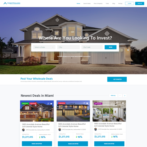 Design for Real Estate Company