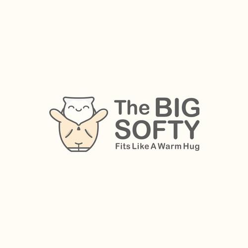 Logo concept for big softy