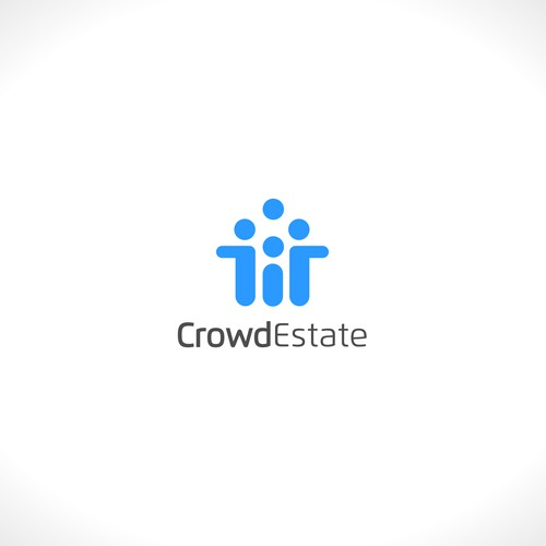 Logo concept for CrowdEstate