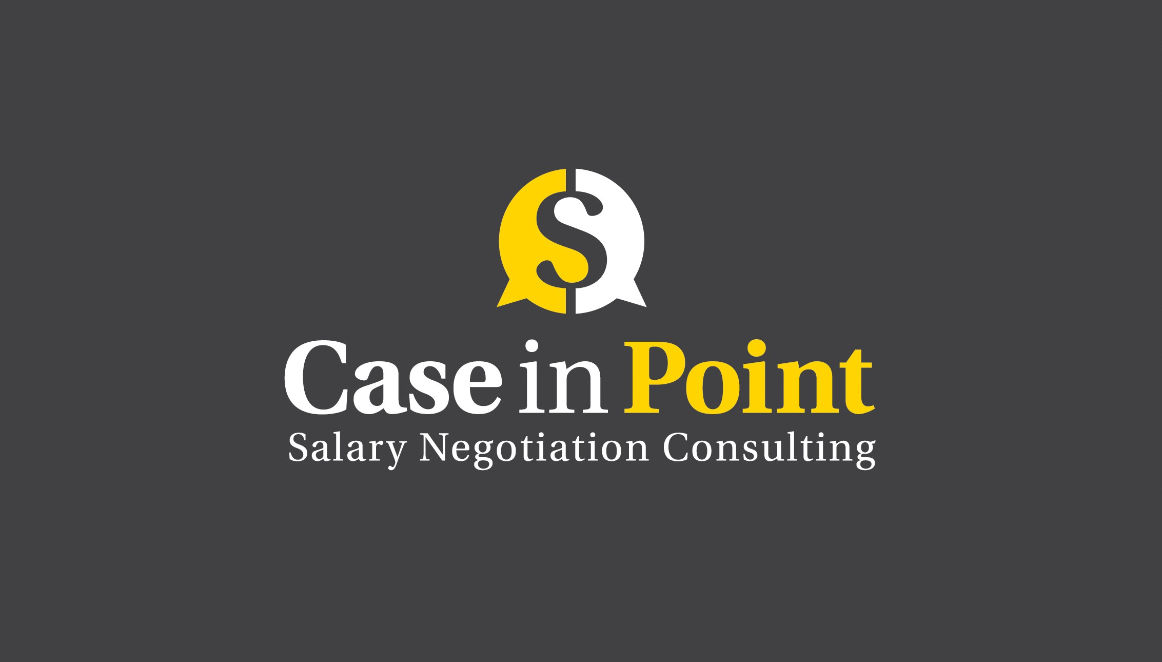 Create a clean, classic logo for salary negotiation consulting business.