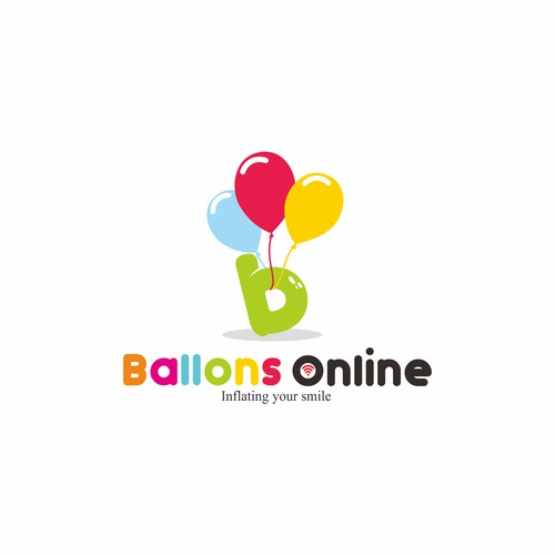 Final concept logo Ballons Online
