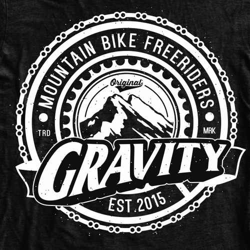 Downhill / Freeride Design T-shirt Creation
