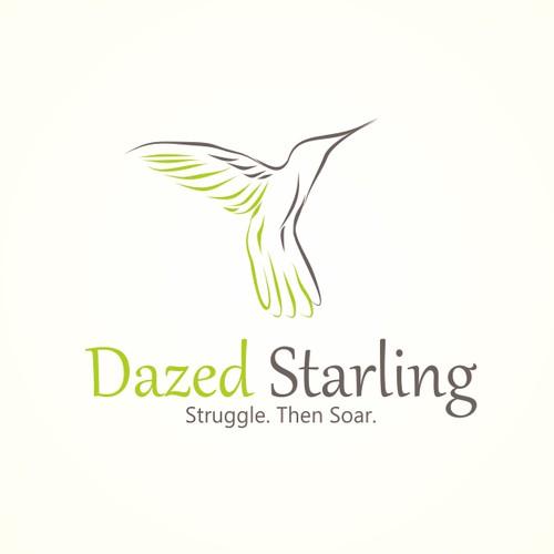 Logo concept for Dazed starling