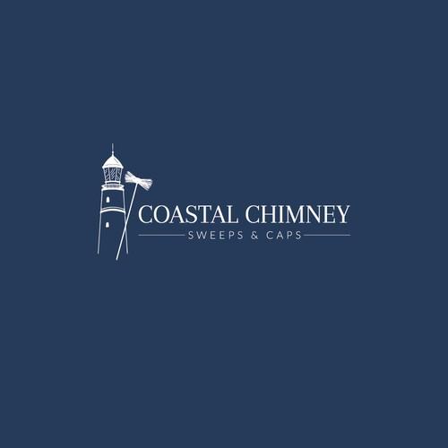 Coastal Chimney Logo Concept