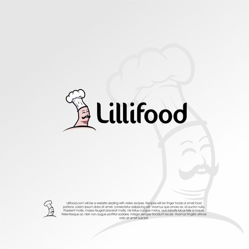 Finger-chef-doll for Finger Food Video Website