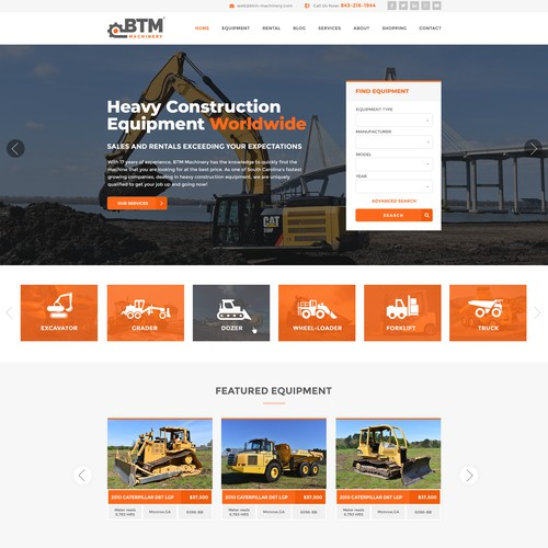 Website and logo redesign