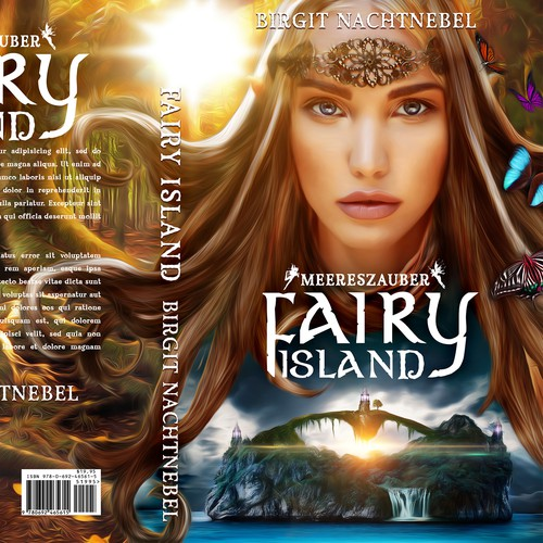 Fantasy Fairy Book Cover Design