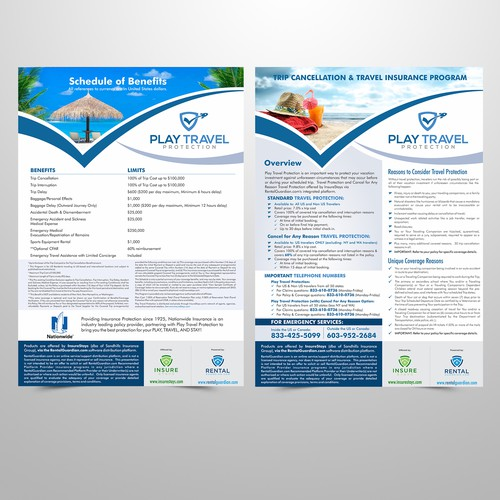 Travel Insurance Flyer
