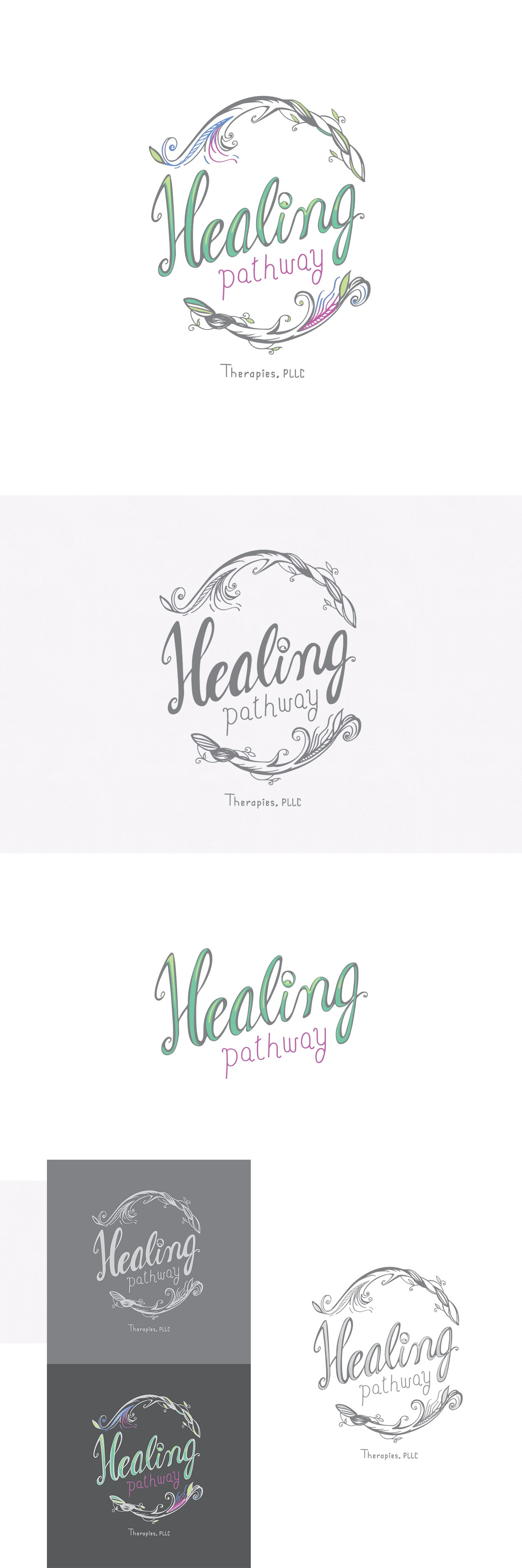 Helping people with your art- create a logo for Healing Pathway Therapies