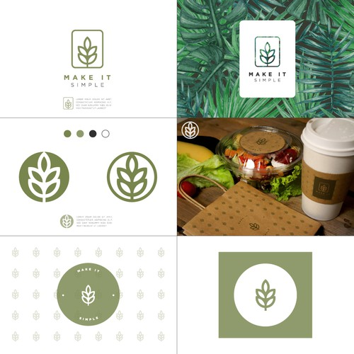 Minimalist Logo Concept for a Food Delivery Company