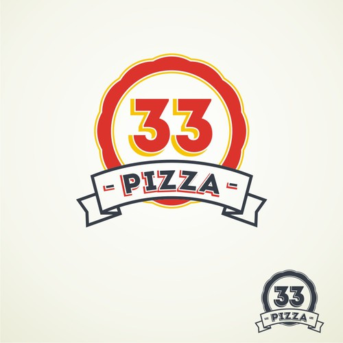 logo for Pizza 33
