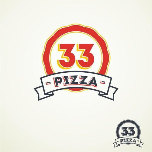 logo for Pizza 33