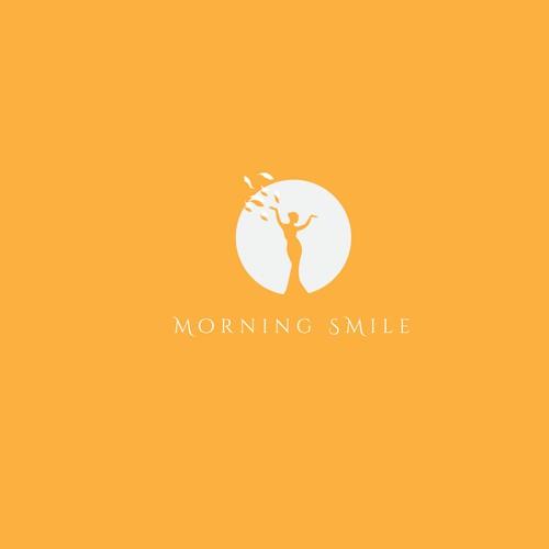 logo concept for 'Morning Smile'