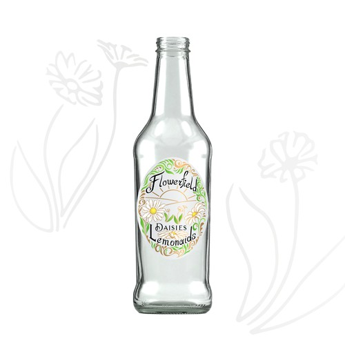Flowerfield Lemonades Label