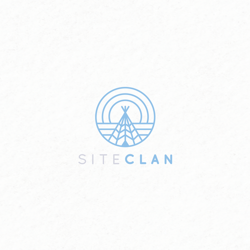 Bold, clever logo for website makers.