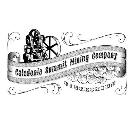 Logo for a fictional mining company