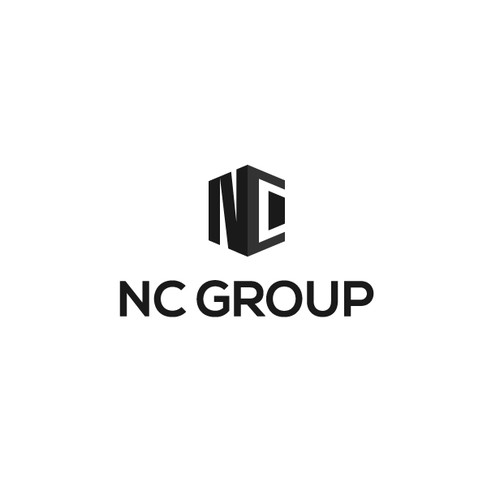 NC Group logo design