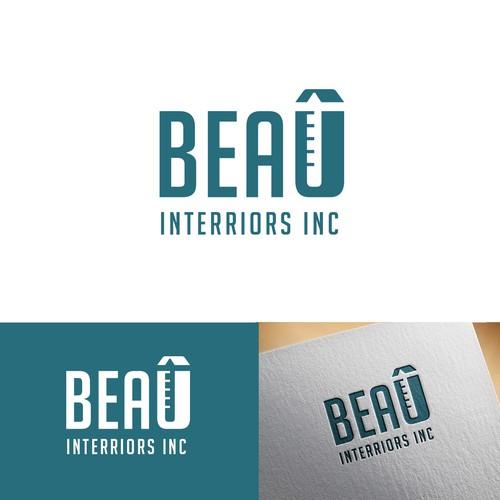 Logo Concept For BEAU Interiors Inc