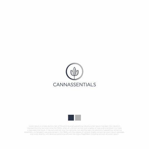 concept logo Cannassentials