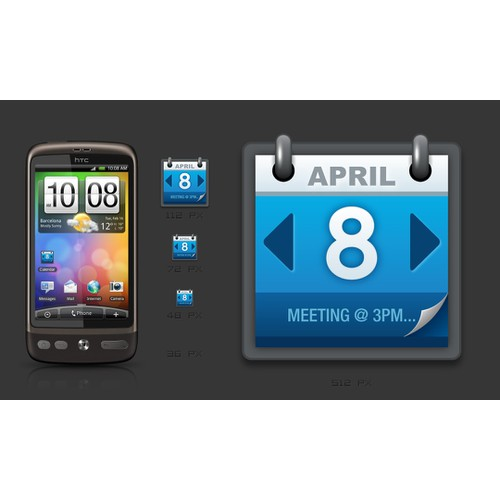 Icon wanted for a Calendar Widget for Android