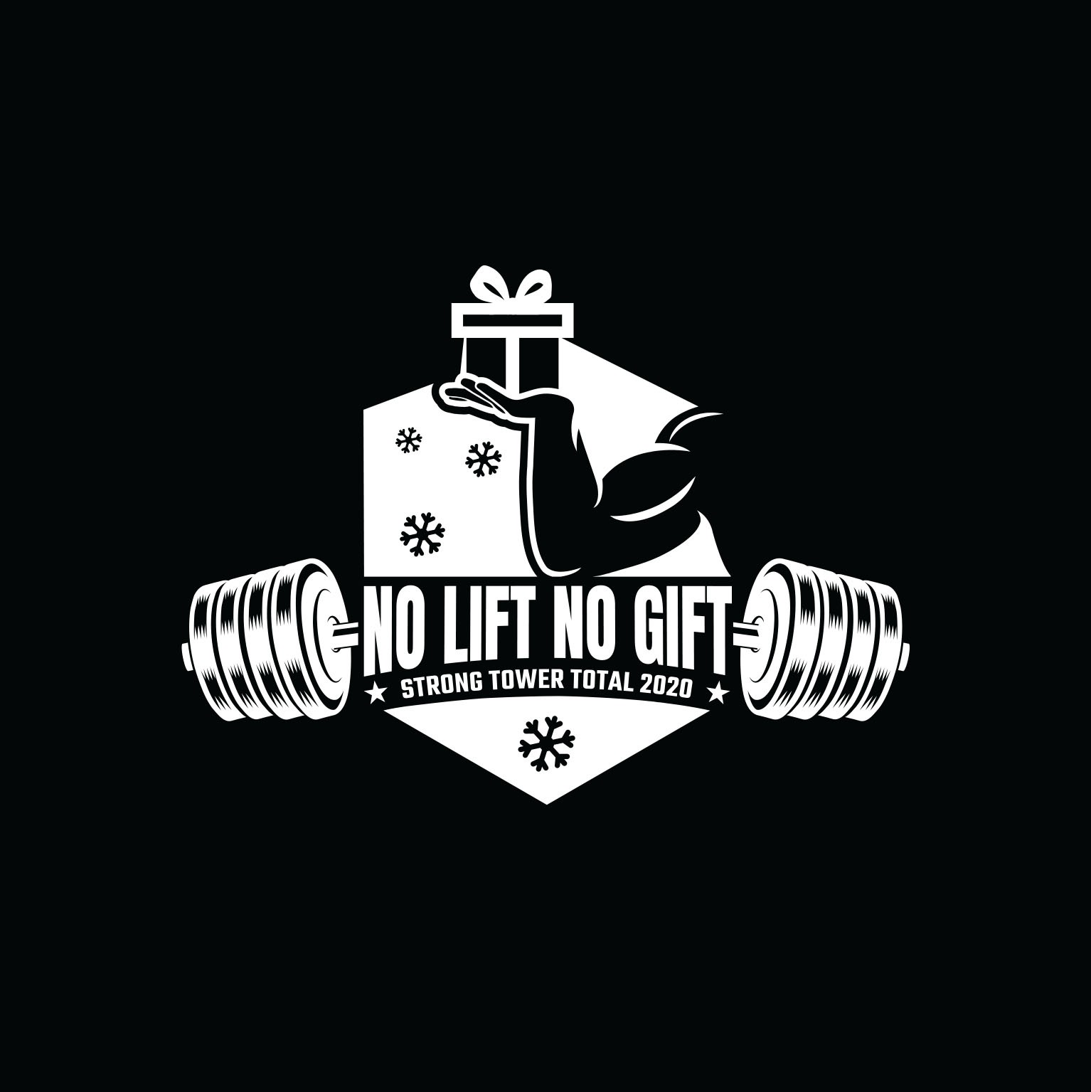 No Gift No Lift! Design a logo for a weightlifting event!