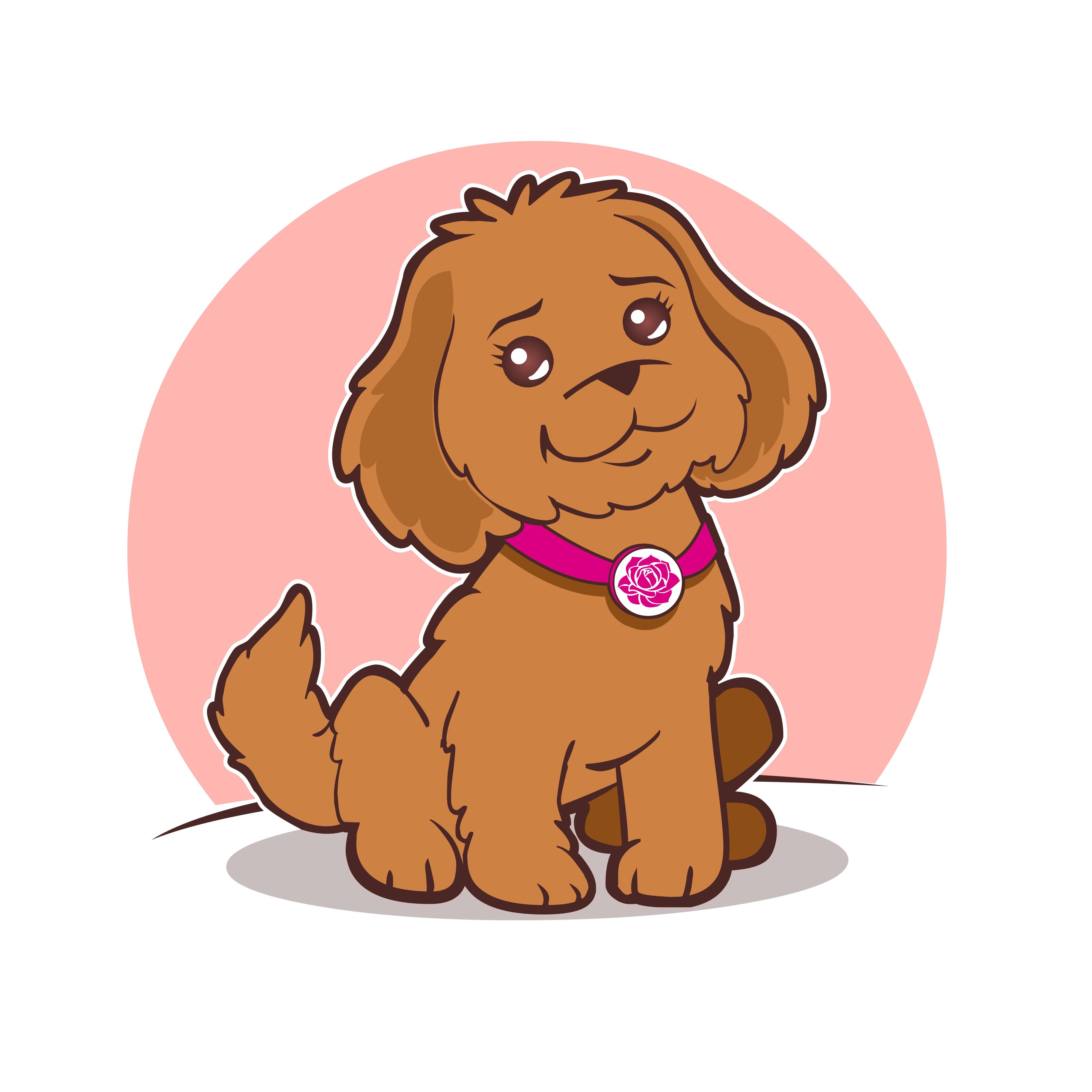 Create an adorable dog for kids to love