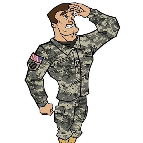 Military Mascot
