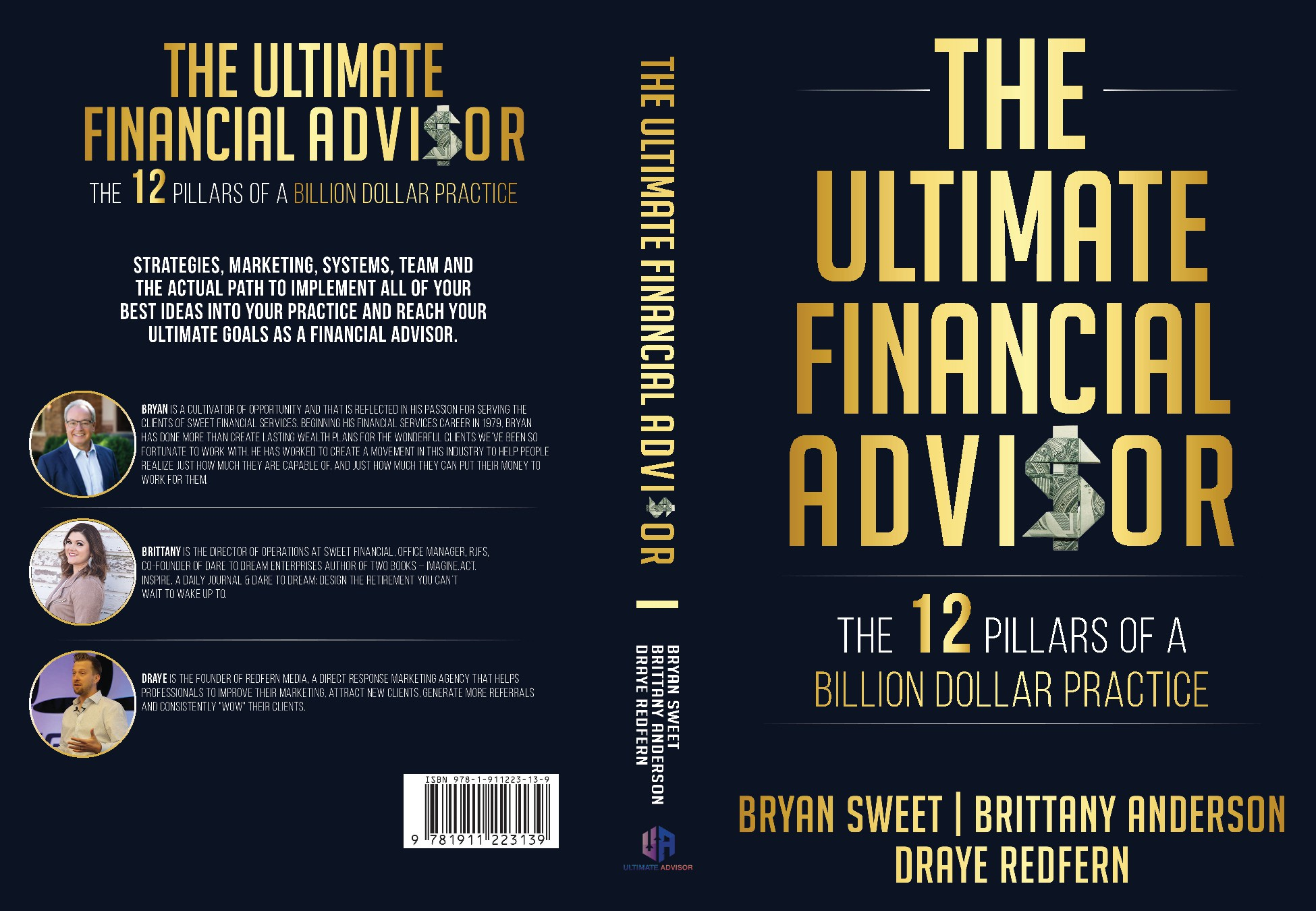 We need a powerful book cover to appeal to Financial Advisors