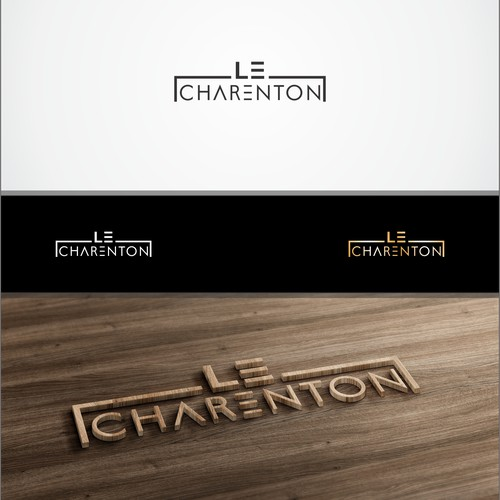 create a logo for an upscale restaurant named after a lunatic asylum
