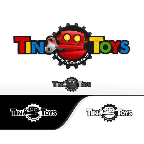 logo for www.TinToys.co.uk