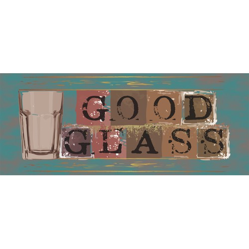 "Logo for ""Good Glass"" onlineshop wanted!"