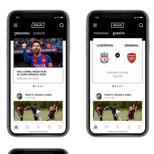 App for footballers